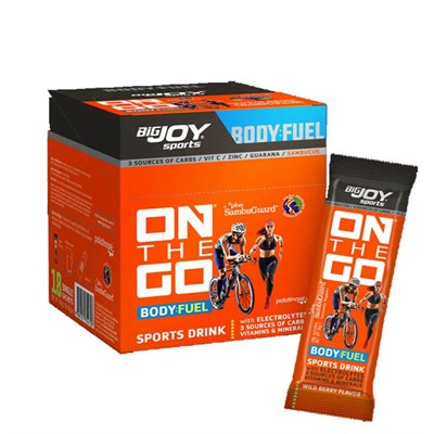 Bİg Joy On The Go Sports Drink 18 Paket Orman Meyveli