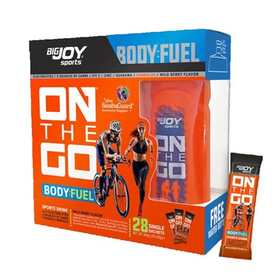 Big Joy On The Go Sports Drink 28 Paket Orman Meyveli