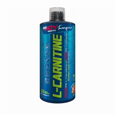 Big Joy  L-Carnitine 2000 Mg 1000 Ml Çilek