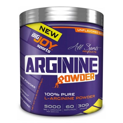 Big Joy Arginine Powder 300 Gr Aromasız