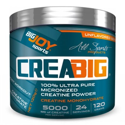 Big Joy Creabig Powder 120 Gr Aromasız