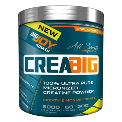 Big Joy Creabig Powder 300 Gr Aromasız