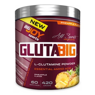 Big Joy Glutabig Glutamine Powder 420 Gr
