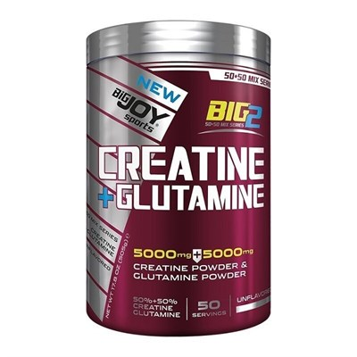 Big Joy Kreatin+Glutamine 5000 Mg 500 Gr Aromasız