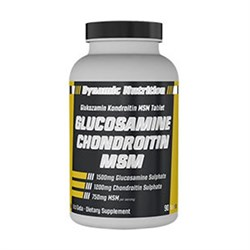 DYNAMIC NUTRITION GLUCOSAMINE CHONDROITION MSM 90 TABLET