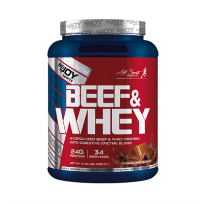 Big Joy Sports Beef & Whey Protein Tozu 1088 Gr Çikolatalı