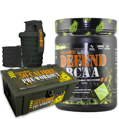 Grenade 50 Calibre 580 gr Ve Defend Bcaa 390 gr