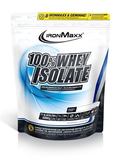 IRONMAXX WHEY ISOLATE PROTEIN 2.000 GR