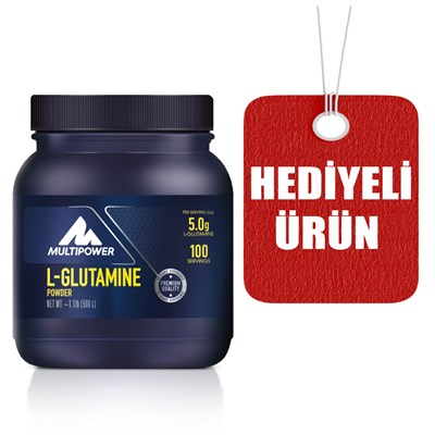 L-Glutamine AA.MULTI POWER006 Multipower Multipower L-Glutamine Powder 500 Gr