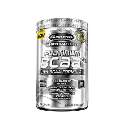 Muscletech Platinum % 100 Bcaa 8:1:1 200 Tablet