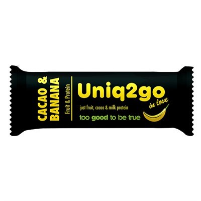 Uniq2go In Love Kakaolu Ve Muzlu Protein Bar 1 Adet