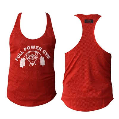 Full Power Gym Fileli Spor Atlet Kırmızı