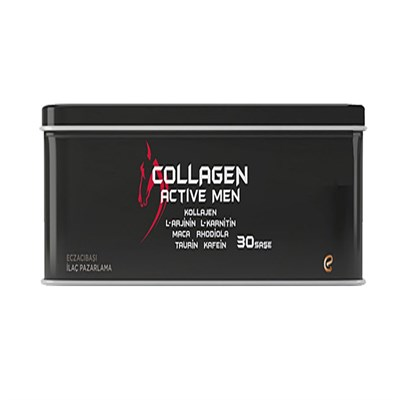 Testosteron ve Anabolik Arttırıcılar DIG.COLLAGEN002 Voonka Voonka Collagen Active Men 30 Paket